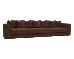 Прямой диван из велюра Мэдисон