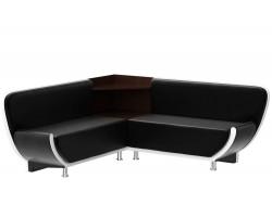 Прямой диван кухонный Лотос