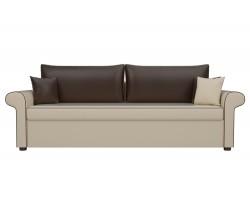 Прямой диван кожаный Милфорд