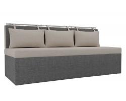 Прямой диван кухонный Метро