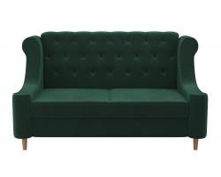 Прямой диван из велюра Бронкс