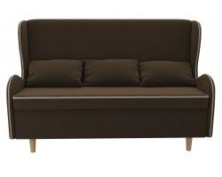 Прямой диван из велюра Сэймон