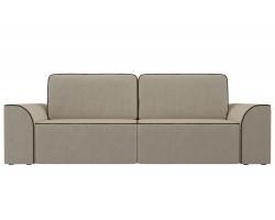 Прямой диван из велюра Вилсон