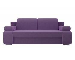 Прямой диван из велюра Денвер