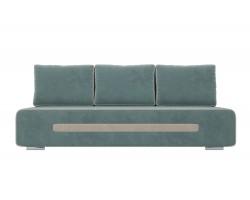 Прямой диван из велюра Приам