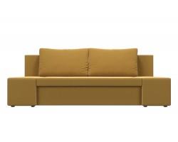 Прямой диван из велюра Сан Ремо